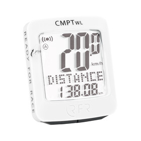 RFR CMPT fietscomputer Wireless wit